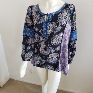 NWT Style &Co. Plus Women's Soft and Roomy Top
